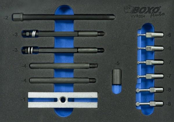 VVR004 - Boxo Werkzeugeinlage Universal Kugellagerradabzieher