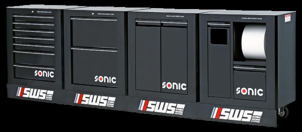 SWS 128 - Aufbewahrungssysteme leer