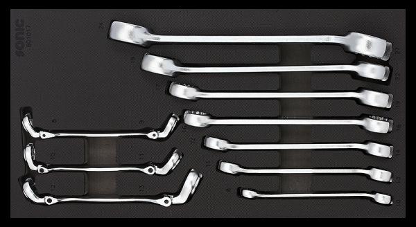 1/3 SFS Hydraulikschlüssel-Set, 10-tlg.