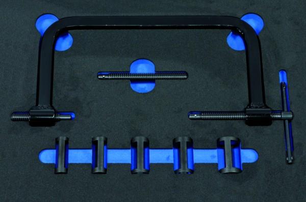 VVE007 - Boxo Werkzeugeinlage Ventilfedernspanner-Satz
