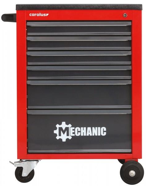 Werkstattwagen MECHANIC, 6 Schubladen, rot/anthrazit