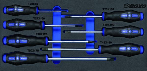 BX005TA - Boxo Werkzeugeinlage TX-Schraubendreher-Satz