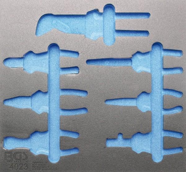 BGS - Werkstattwageneinlage (408x378x32 mm), leer, für Zangensatz, 7-tlg. (Art. 4023-1)