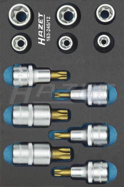 HAZET Werkzeug-Satz, TORX® 163-245/12