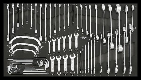 Jumbo SFS, Schlüssel-Set, 69-tlg.