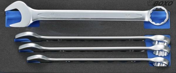 BX057 - Boxo Werkzeugeinlage Ring-Maulschlüssel-Satz