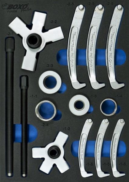 VVA006 - Boxo Werkzeugeinlage 2 & 3 Arm-Abzieher-Satz