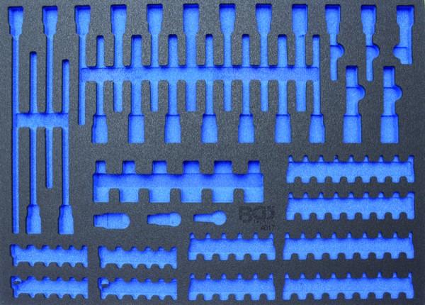 BGS - Werkstattwageneinlage (408x467x32 mm), leer, für Bits / Biteinsätze (Art. 4017-5)
