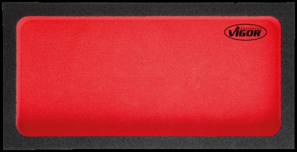 1/3 Weichschaumeinlage, leer V2239 ∙ Vierkant hohl 12,5 mm (1/2 Zoll)