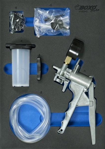 VVE040 - Boxo Werkzeugeinlage Unterdruckpumpe / Bremsenentlüftung-Satz