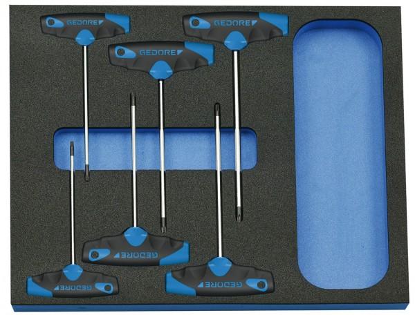 Schraubendreher-Satz in Check-Tool-Modul, 6-tlg