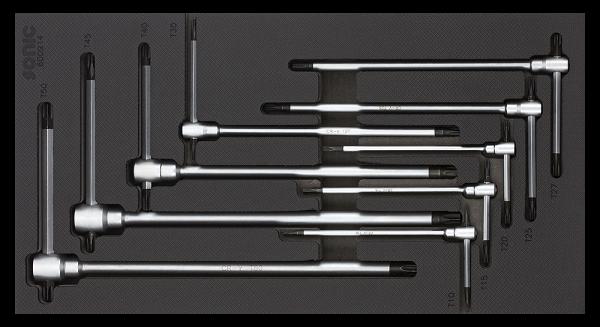 1/3 SFS Schub-T-Griff Torx Set 9-tlg.