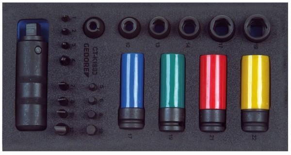 "Schraubenlöser-Sortiment 1/2"" in Check-Tool-Modul"