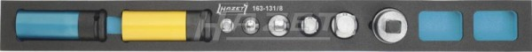 HAZET Steckschlüssel-Satz 163-131/8