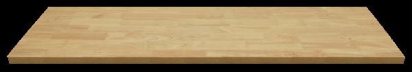 Holz-Arbeitsplatte L1348 x B500 x H40