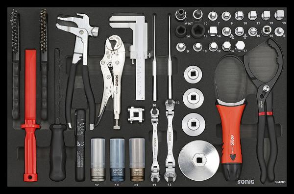 Werkzeugset, 43-tlg., SFS
