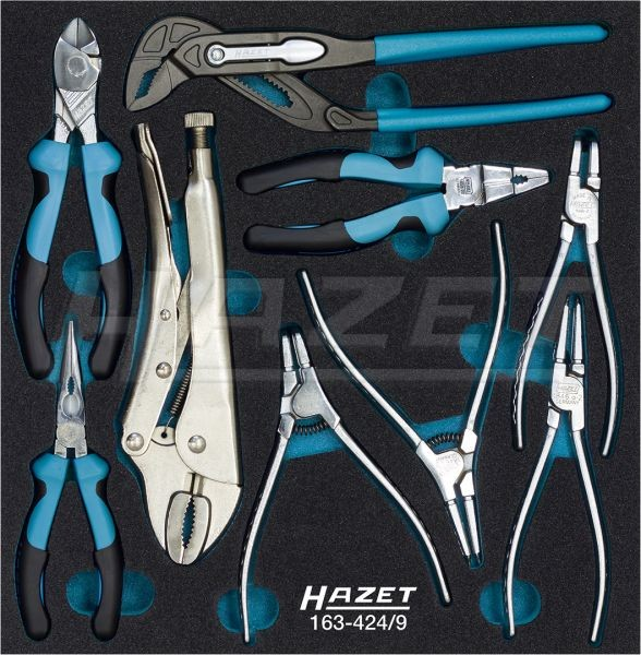 HAZET Zangen-Satz 163-424/9