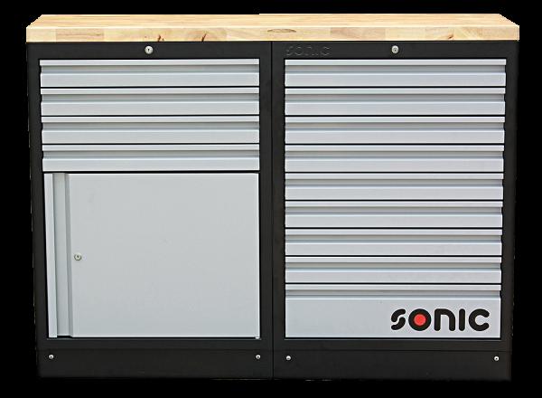 MSS 26`` 9 Schubladen, Schrank mit Türe