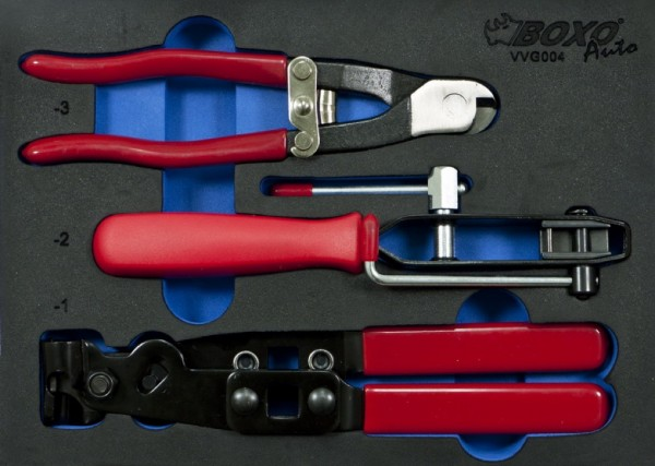 VVG004 - Boxo Werkzeugeinlage Zangensatz 3-tlg.