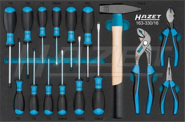 HAZET Werkzeug-Sortiment 163-330/16