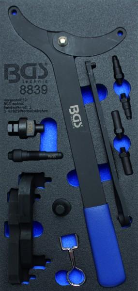 BGS - Werkstattwageneinlage Motor-Einstellwerkzeug-Satz für VAG 2,0/3,0 TFSi (Art. 8839)