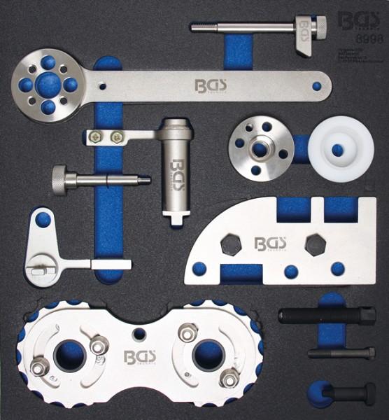 BGS - Werkstattwageneinlage Motor-Einstellwerkzeug-Satz für Volvo B4204 (Art. 8998)