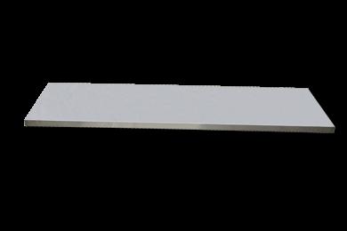 Edelstahl-Arbeitsplatte extra tief L1690 x B570 x H38
