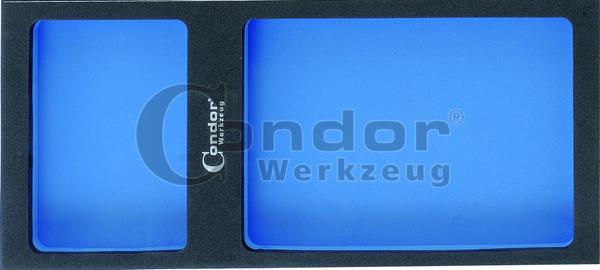 Condor 7199 Schaumeinlage 1/3, leer, universell