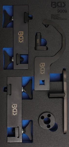 BGS - Werkstattwageneinlage Motor-Einstellwerkzeug-Satz für Jaguar / Landrover 5,0L V8 (Art. 9009)