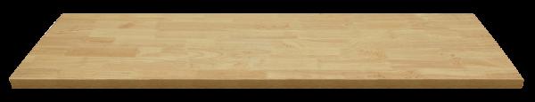 Holz-Arbeitsplatte L1690 x B500 x H40