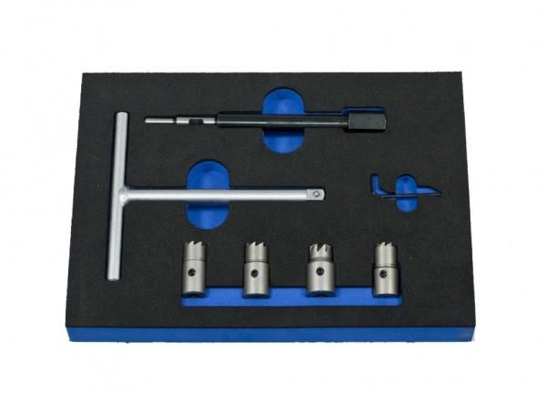 VVE012 - Boxo Werkzeugeinlage DIesel-Einspritzdüsen & Reinigung-Satz