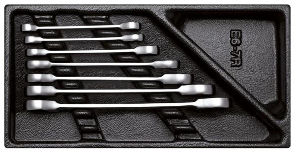 Doppel-Ringratschenschlüssel-Satz in 1/3 Modul