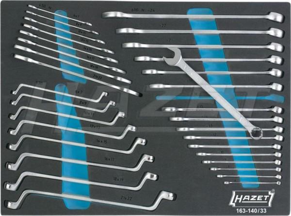 HAZET Schraubenschlüssel-Satz 163-140/33