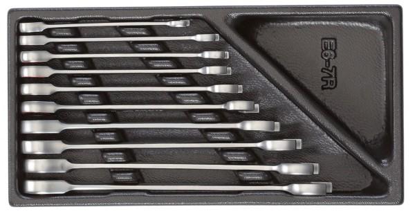 Maul-Ringratschenschlüssel-Satz in 1/3 Modul