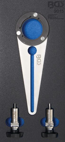 BGS - Werkstattwageneinlage Kurbelwellen-Riemenscheibenwerkzeug für BMW N47 (Art. 9015)