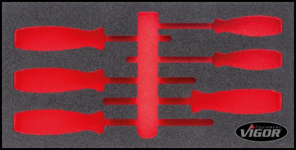 Weichschaum-Einlage, leer V3645