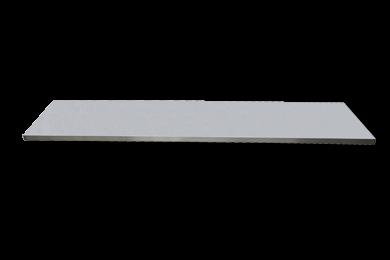 Edelstahl-Arbeitsplatte extra tief L2193 x B570 x H38
