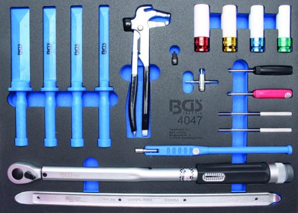 BGS - Werkstattwageneinlage Reifendienst, 18-tlg. (Art. 4047)