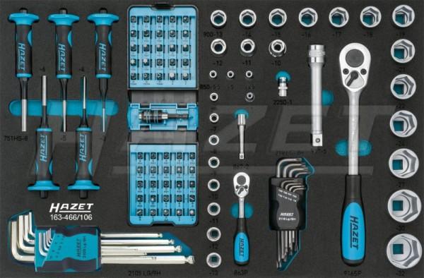 HAZET Werkzeug-Satz 163-466/106