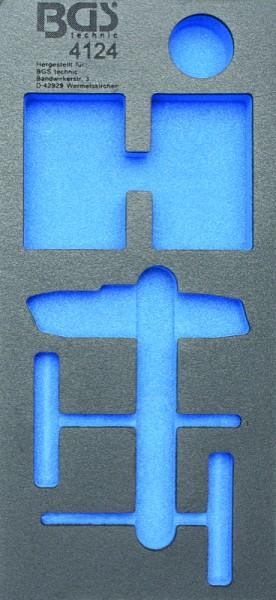 BGS - Werkstattwageneinlage (408x189x32 mm), leer, für Reifen-Reparatur-Satz, 54-tlg. (Art. 4124-1)