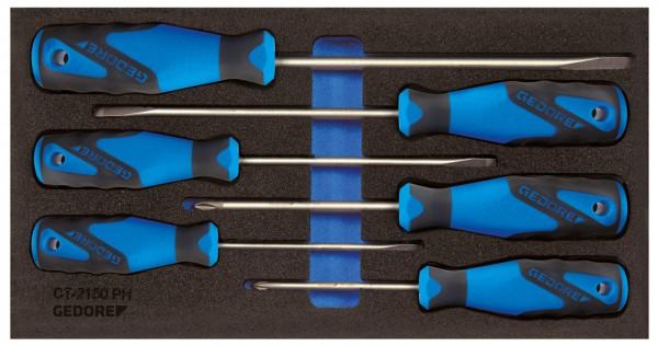 Schraubendreher in Check-Tool-Modul