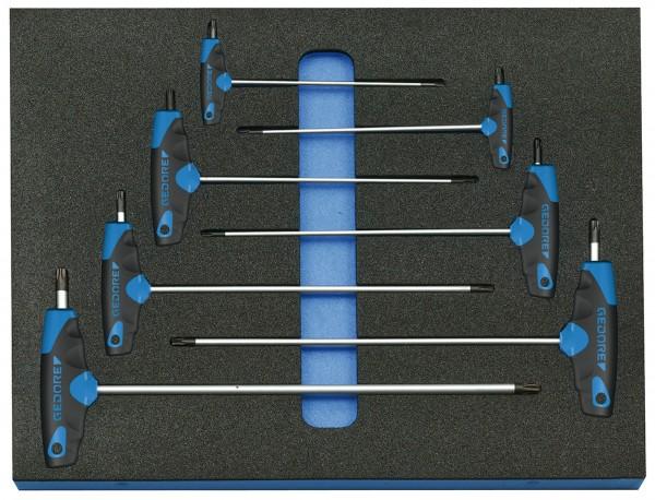 Winkelschraubendreher-Satz in Check-Tool-Modul, 7-tlg