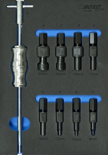 VVA008 - Boxo Werkzeugeinlage Präzisions- Innenauszieher mit Gleithammer (8 ~ 32 mm)